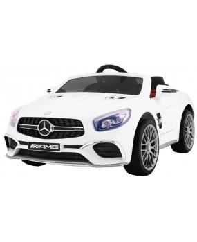 Elektrické autíčko Mercedes AMG SL65 biele